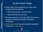 elaa panel tasks1