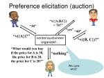 preference elicitation auction