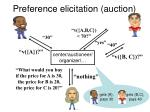 preference elicitation auction1