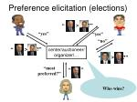 preference elicitation elections