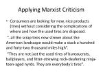 applying marxist criticism1