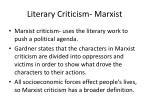 literary criticism marxist