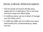 social cultural historical aspects
