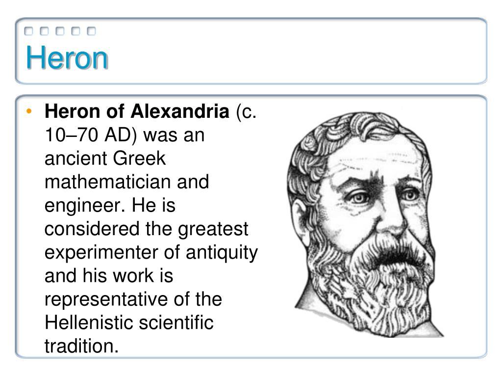heron mathematician