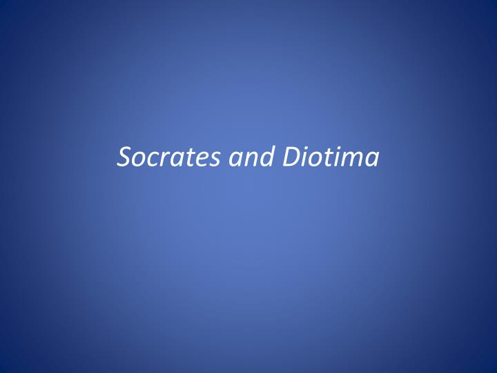 socrates and diotima n.