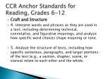 ccr anchor standards for reading grades 6 121