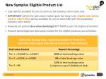 new symplus eligible product list1