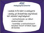 adc analog digital converter