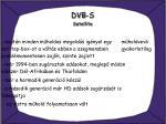dvb s satellite