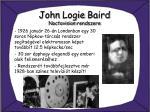 john logie baird noctovision rendszere