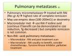 pulmonary metastases 2