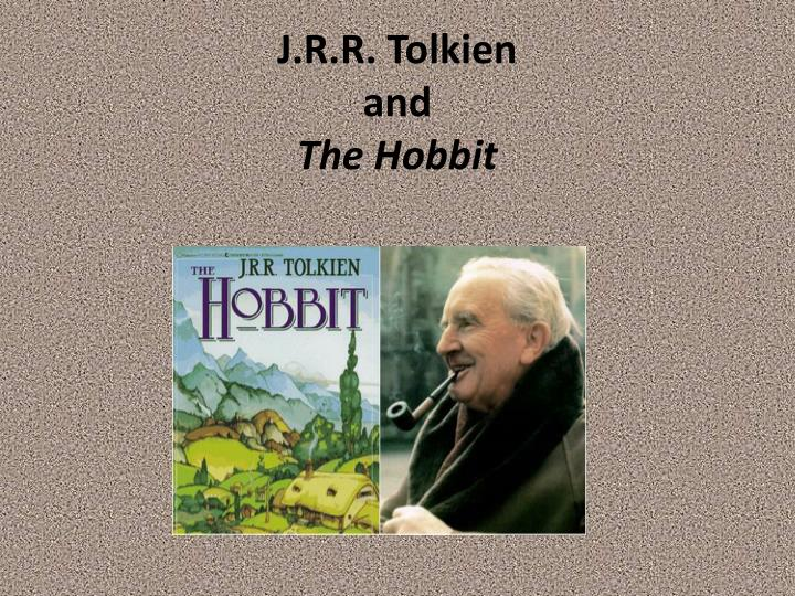 j r r tolkien and the hobbit n.