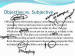 objective vs subjective5