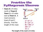 practice the pythagorean theorem2