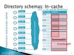 directory schemas in cache2