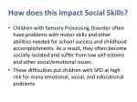 how d oes this impact social skills