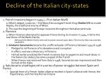 decline of the italian city states