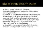 rise of the italian city states1