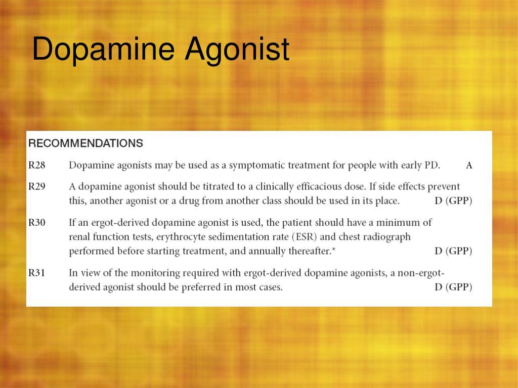 PPT - Drugs for Parkinon's disease PowerPoint Presentation