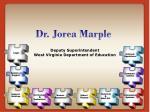 dr jorea marple