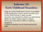 indicator 12 early childhood transition3