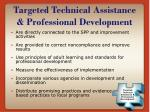 targeted technical assistance professional development