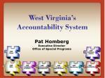 west virginia s accountability system