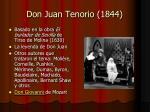 don juan tenorio 1844