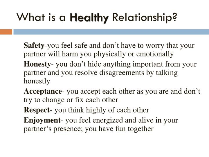 What constitutes a dating relationship