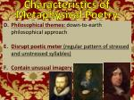 characteristics of metaphysical poetry2