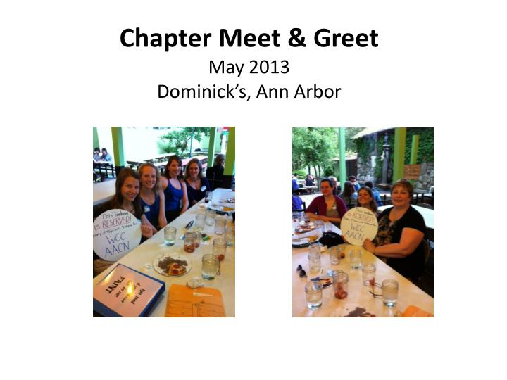 chapter meet greet may 2013 dominick s ann arbor n.