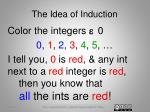 the idea of induction