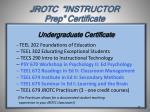 jrotc instructor prep certificate1
