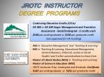 jrotc instructor