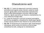 o wiadczenia woli4