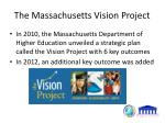 the massachusetts vision project