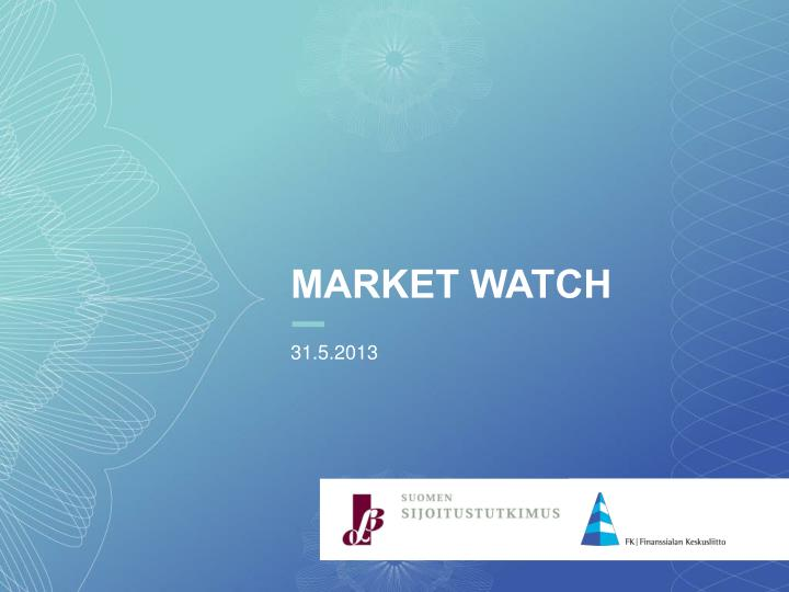 market watch n.