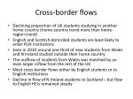 cross border flows1