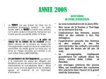 annee 2008