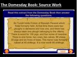 the domesday book source work
