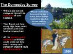 the domesday survey
