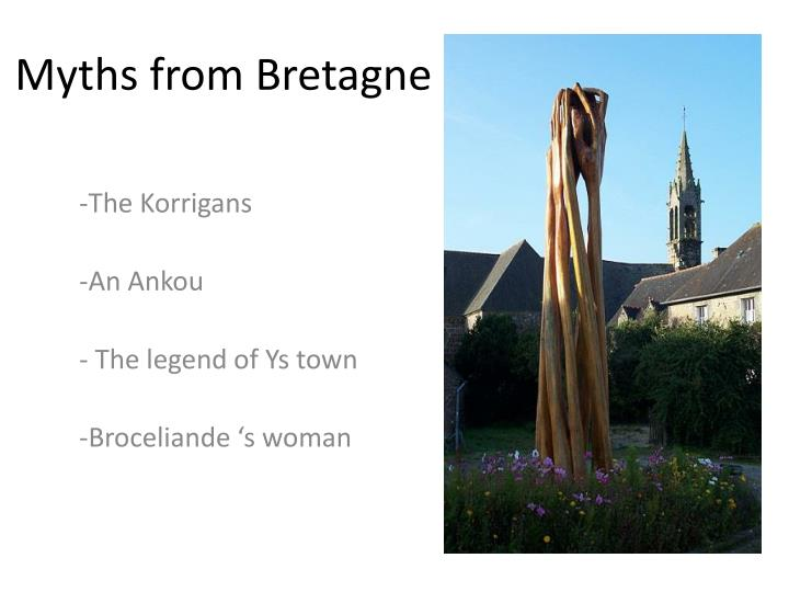 myths from bretagne n.