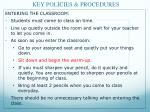 key policies procedures1