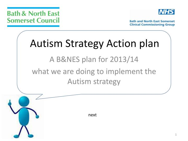 autism strategy action plan n.