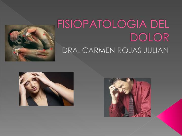 fisiopatologia del dolor n.