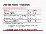 assessment research