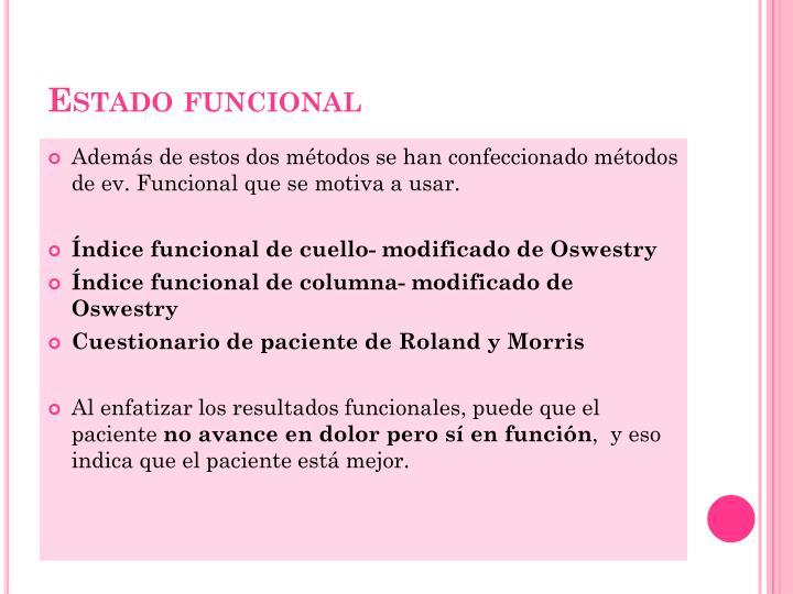 Estado funcional