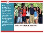 peace camp initiative