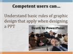 competent users can11