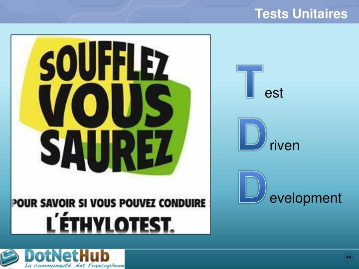 Tests Unitaires